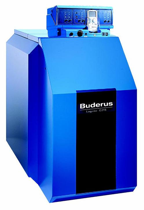 Чугунный котел, работающий на газе/дизельном топливе, Logano G215 WS (78 кВт), Buderus