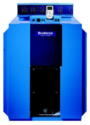 Чугунный котел, работающий на газе/дизельном топливе, Logano GE315 (170 кВт.) в собранном виде, Buderus