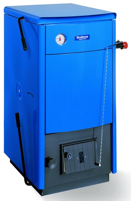 Напольный твердотопливный котел отопления Logano S111 24 кВт, Buderus
